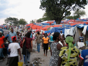 Petionville Club – a tent city with 35,000 inhabitants