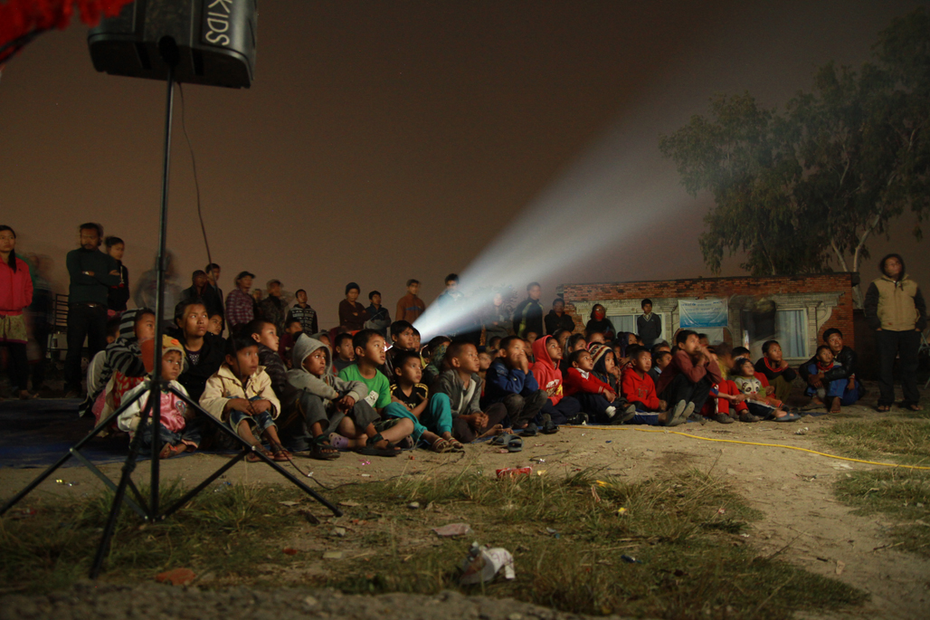 A rapt audience at our second Chuchepati screening