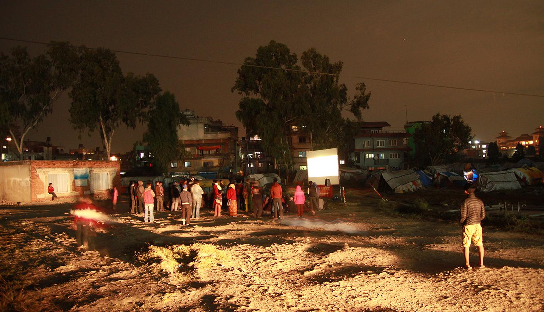 Second screening at Chuchepati