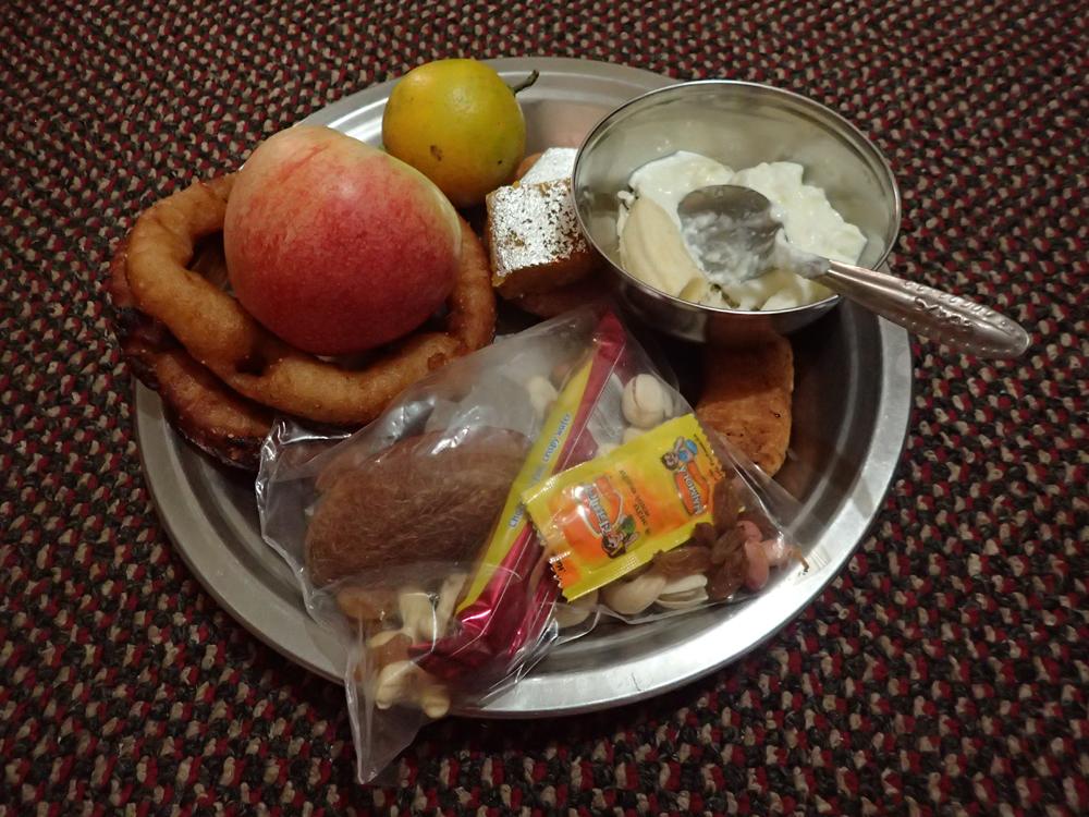 Traditional Bhai Tika treats