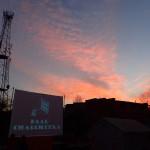 Sunset at Itachhen