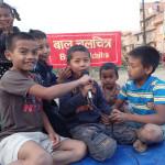 Kids at Libali
