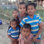 Kids at Libali